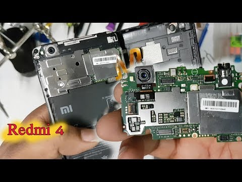 Xiaomi Redmi 4 - Disassembly and Teardown || How to open Redmi 4 Back Cover