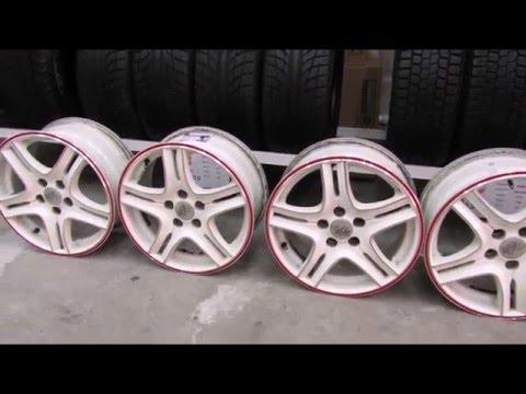 Белые диски SSW R15