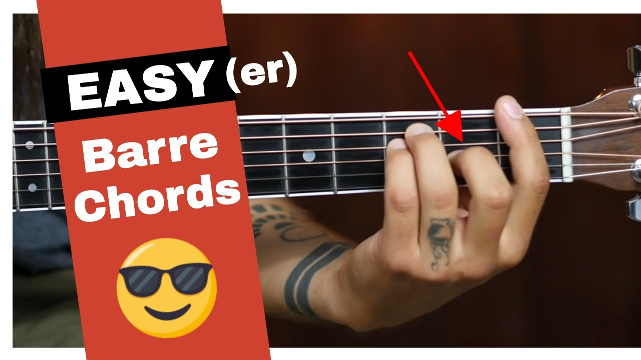 3 Secrets To Easy Barre Chords Youtube