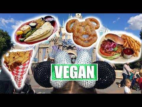 Vegan Food at Disneyland!