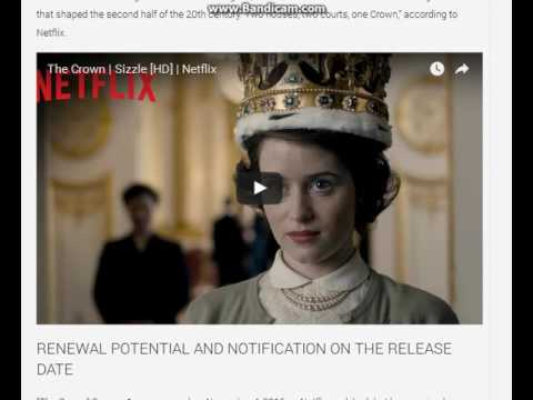 the crown for season 2 on netflix release date youtube. Black Bedroom Furniture Sets. Home Design Ideas