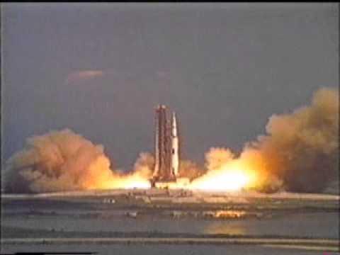 Apollo 11 lift off 10 secs_xvid - YouTube