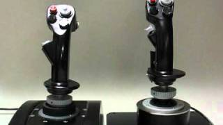 simhq review thrustmaster hotas warthog movement comparison