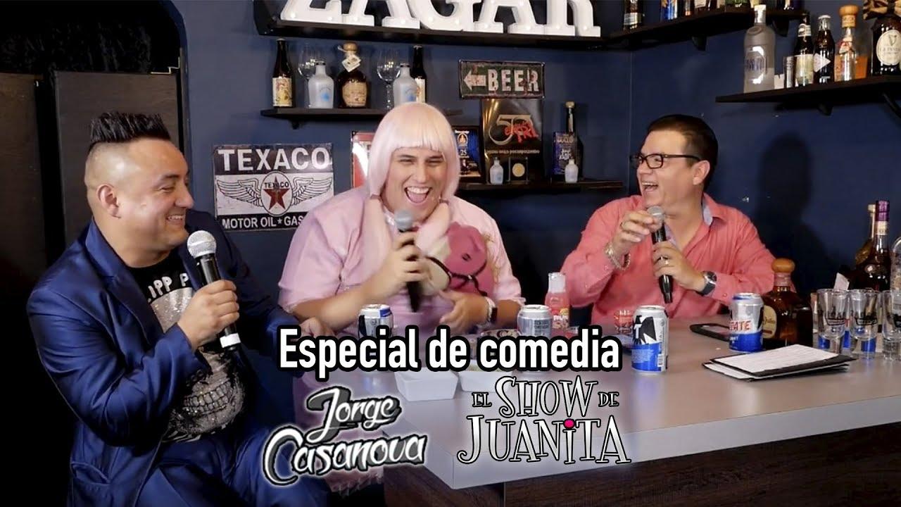 Ver Especial de comedia con Juanita Bipolar (Marco Polo) y Jorge Casanova en Español