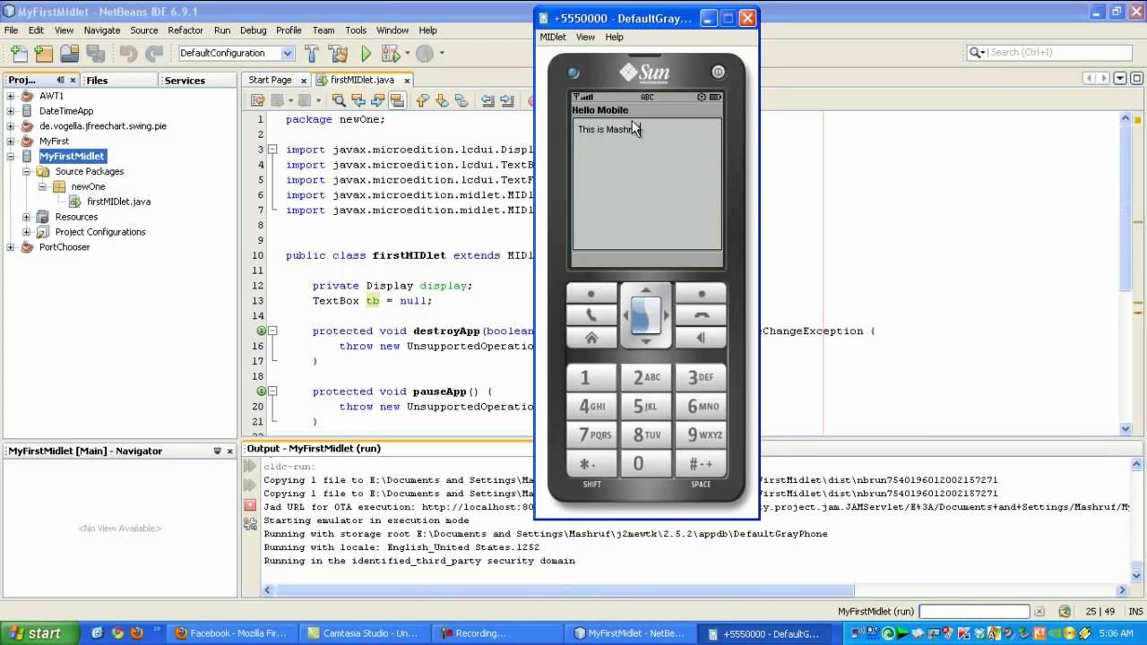 J2ME PROGRAMMING TUTORIAL PDF