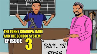 Nigerian Cartoon Comedy - The Funny GrandPa Dare and School System Episode 3 - Yio Concept Artworks