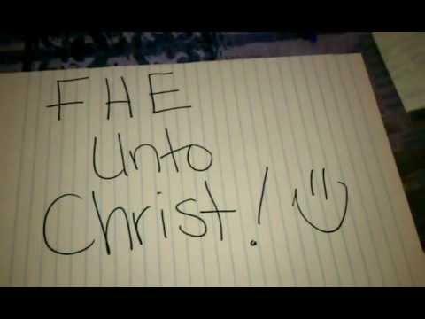 FHE Lesson: Christ