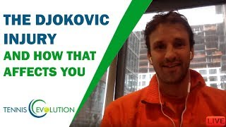The Djokovic Injury And How That Affects You