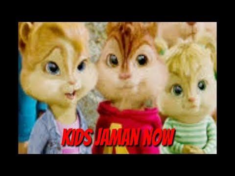 Kids jaman now versi chipmunk
