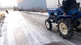 Mini ciągnik ogrodniczy TX 1300D test przed zakupem. www.akant-ogrody.pl