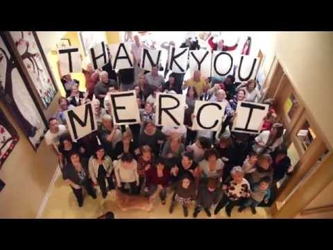 West Island Palliative Care Residence - Thank you video 2015
