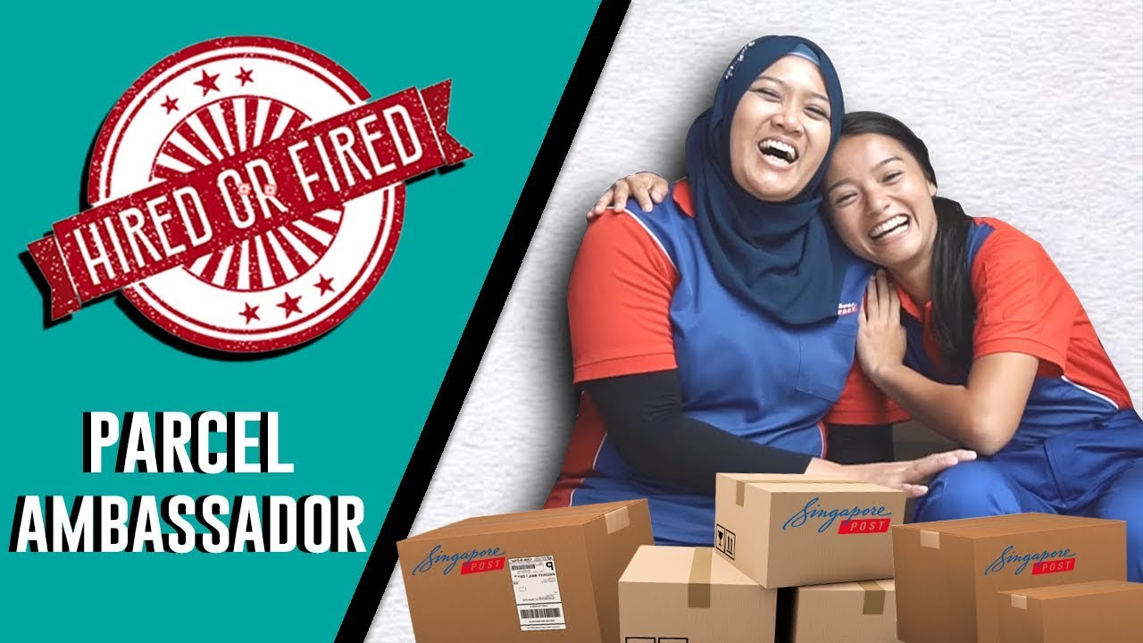 HIRED OR FIRED - PARCEL AMBASSADOR FOR A DAY