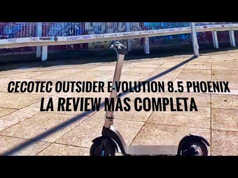 Patinete Cecotec Outsider Evolution Batería y Velocidad Real - Review Sincera