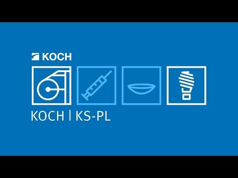 KOCH | KS-PL - Sealing Machine with linear pallet transport for packaging USB sticks