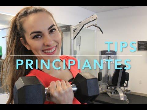 TIPS PARA PRINCIPIANTES EN EL GYM