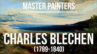 Charles Blechen (1789-1840) A collection of paintings 4K Ultra HD