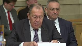 С.Лавров на пятой сессии Российско-Арабского Форума сотрудничества