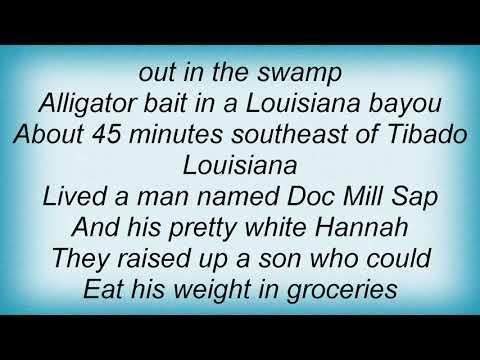 Hank Williams Jr. - Amos Moses Lyrics