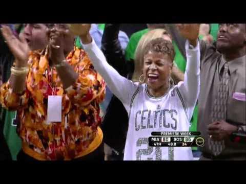 Ray Allen clutch 3pt shot vs. Miami Heat