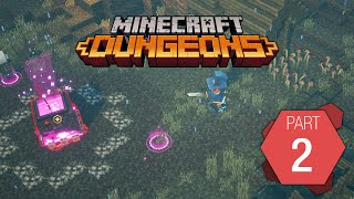 "Minecraft Dungeons: Playthrough Part 2 of 9 ""Soggy Swamp"""
