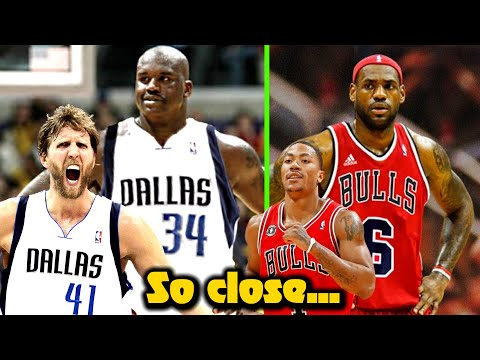 7 NBA Superteams That ALMOST Happened