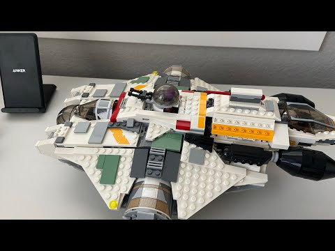 Building Lego ghost ship and the phantom