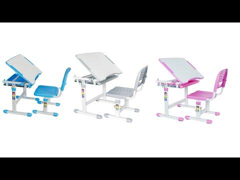 VIVO Height Adjustable Childrens Desk & Chair Kids Interactive Work Station