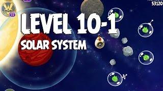 Angry Birds Space Solar System 10-1 Walkthrough 3-Star