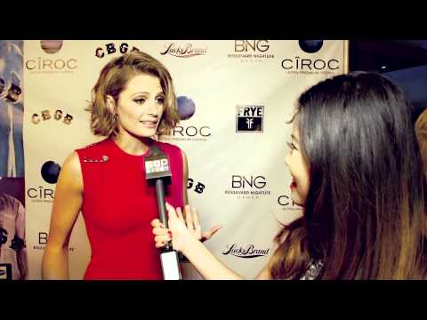 "Stana Katic Talks Life On Set of CBGB and ""Castle"" Enement/Wedding Spoiler!"
