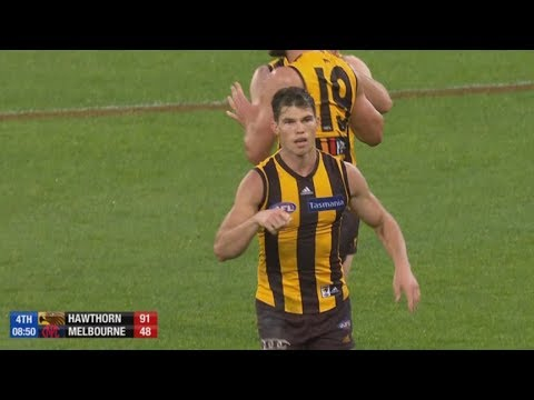 AFL 2018: Round 4 - Hawthorn highlights vs. Melbourne