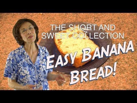 Bisquick Banana Nut Bread  - Short