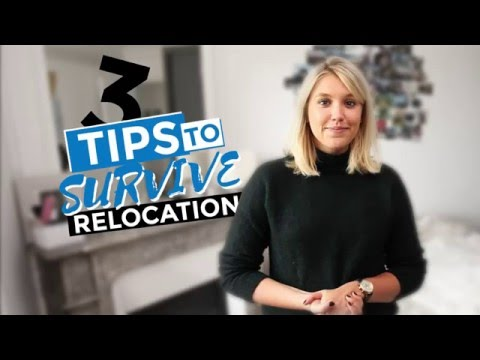 Survival tips for international students:  Relocation