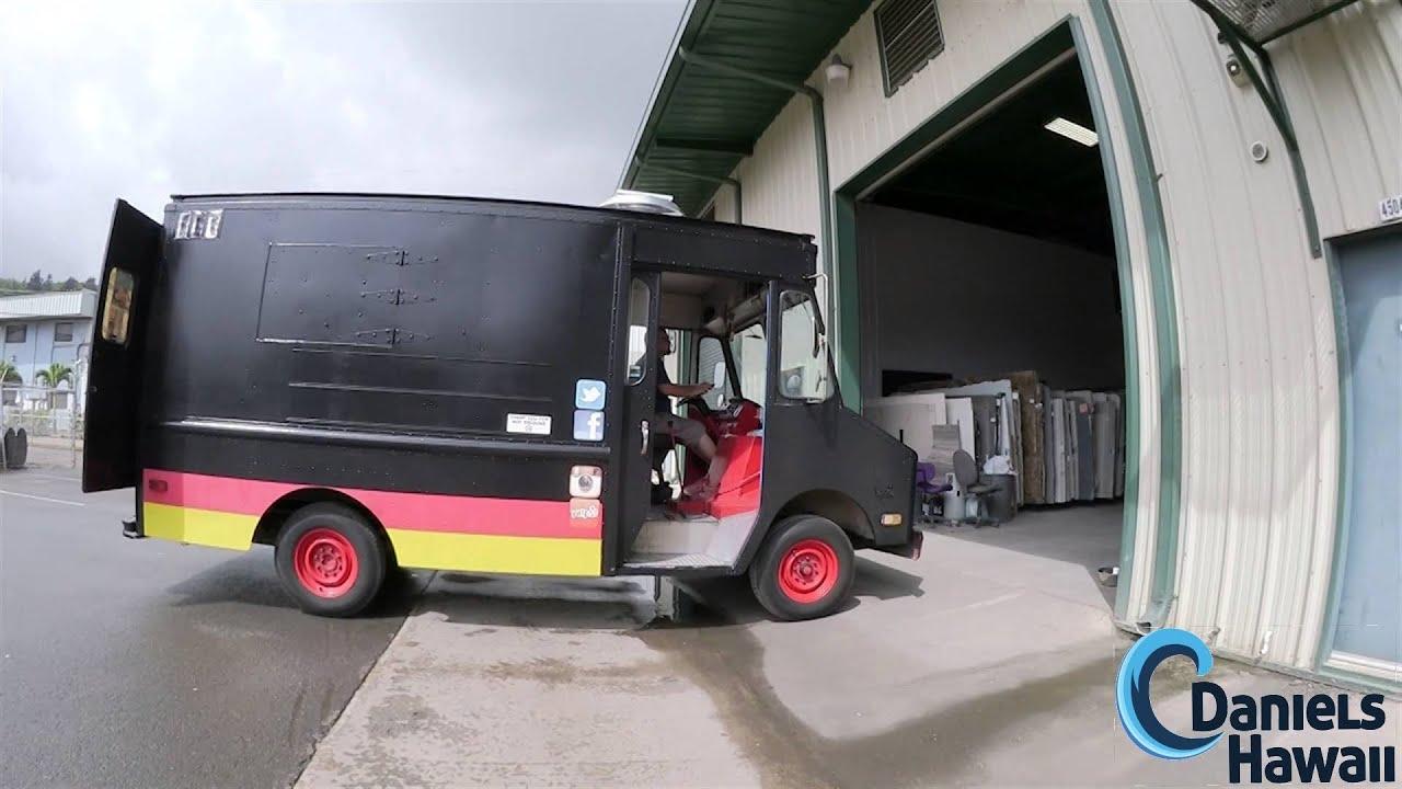 Deutschland808 Food Truck Deutsche Kueche In Hawaii Auf Oahu Youtube