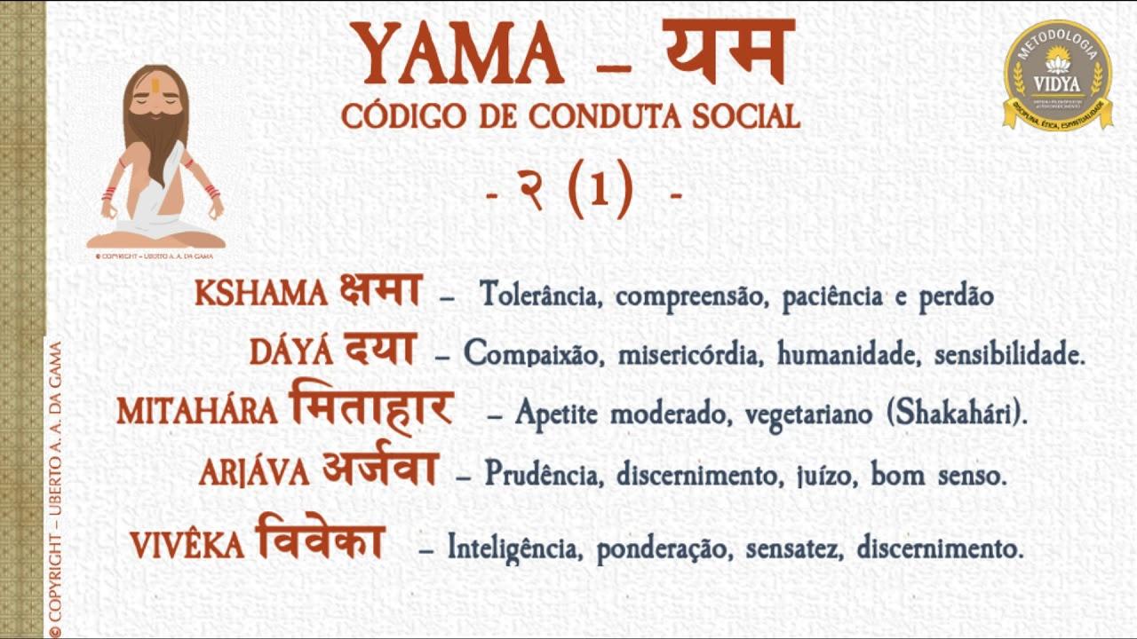 Yama e Niyama - Códigos de Ética