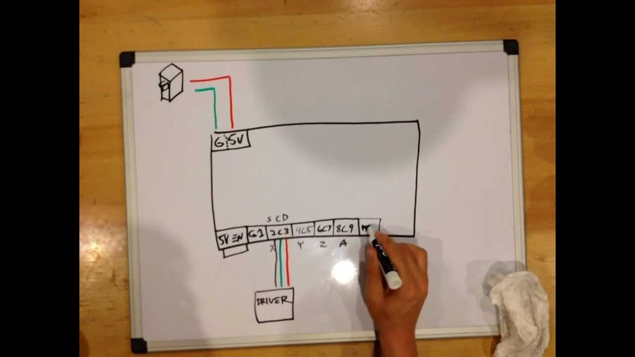 cnc router wiring diagram 1996 honda civic ex power window thunderdork diy cnc4pc com c11 youtube