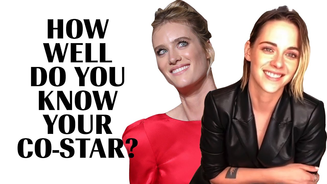 Kristen Stewart & Mackenzie Davis Play 'How Well Do You Know Your Co-Star?' | Marie Claire