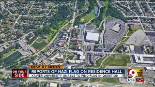 Xavier investigates report of Nazi or swastika flag in dormitory