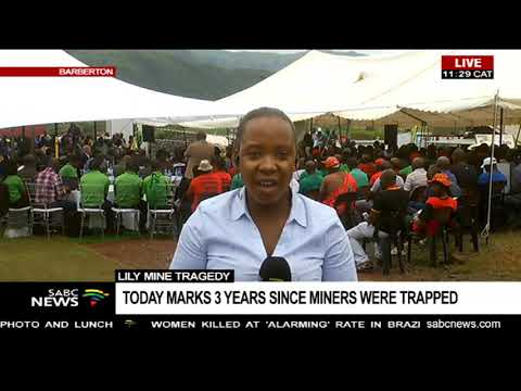 Lily Mine Tragedy  | Today Marks 3 Years Since Miners Were Trapped
