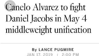 ((((BREAKING NEW IS)))))) CANELO ALVAREZ FIGHTING DANIEL JACOB'S !!in unification bout