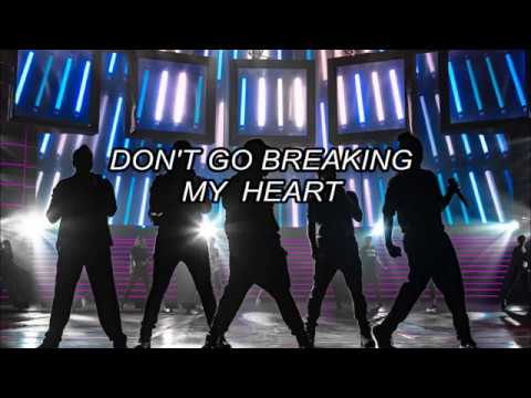 Backstreet Boys Don't Go Breaking My Heart (traducida al español)