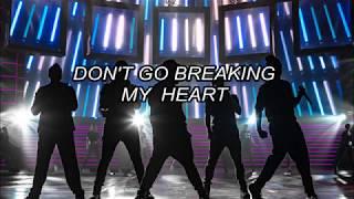Backstreet Boys Don't Go Breaking My Heart (traducida al español)