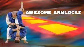 Judo Ne-Waza compilation (Arm locking techniques)