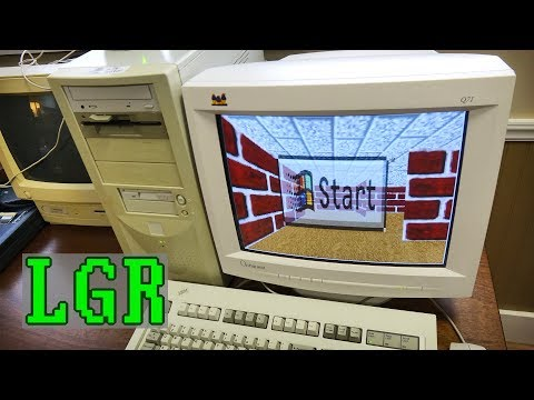"""LGR - Unboxing a New 17"""" ViewSonic CRT Monitor"""