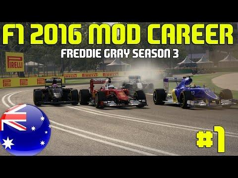 F1 2016 Australian Grand Prix | Freddie Gray Career (F1 2014 Game)