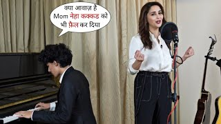 Madhuri Dixit and His Son Arin Nene Live Singing for to Our Real Hero | Request For Donate for India