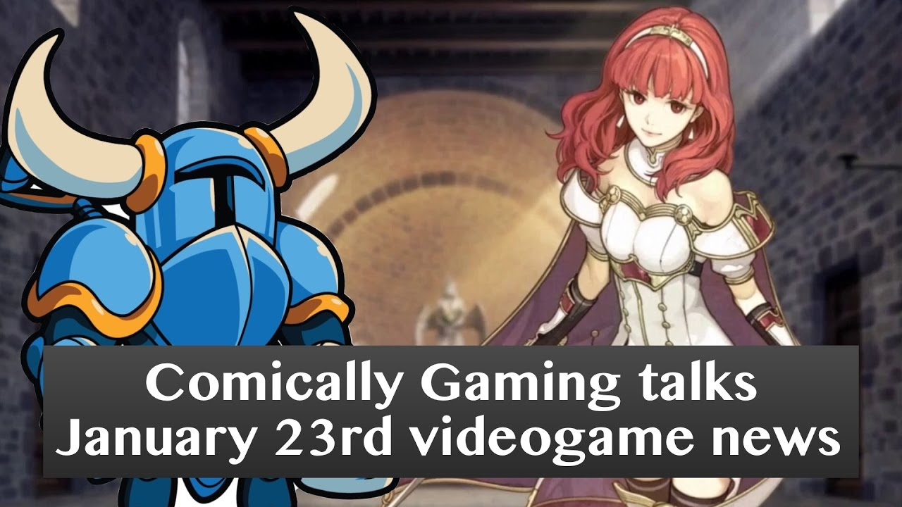 Comically Gaming Jan 23rd videogame news