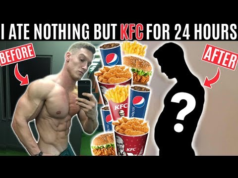 I ate nothing but KFC for 24 hours and this is what happened...