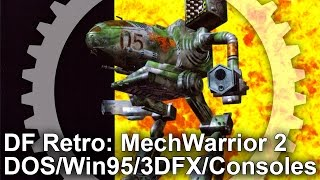 DF Retro: MechWarrior 2: 31st Century Combat - DOS/Win95/3DFX/PS1/Saturn