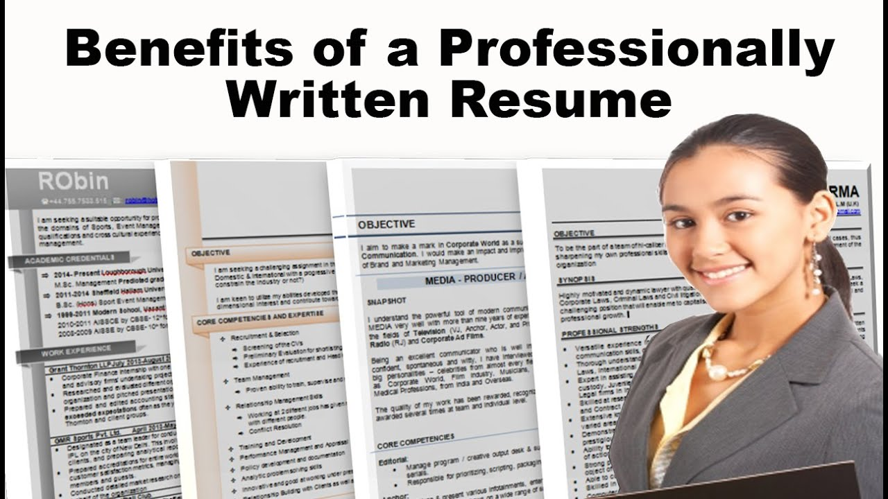 benefits of a professionally written resume youtube
