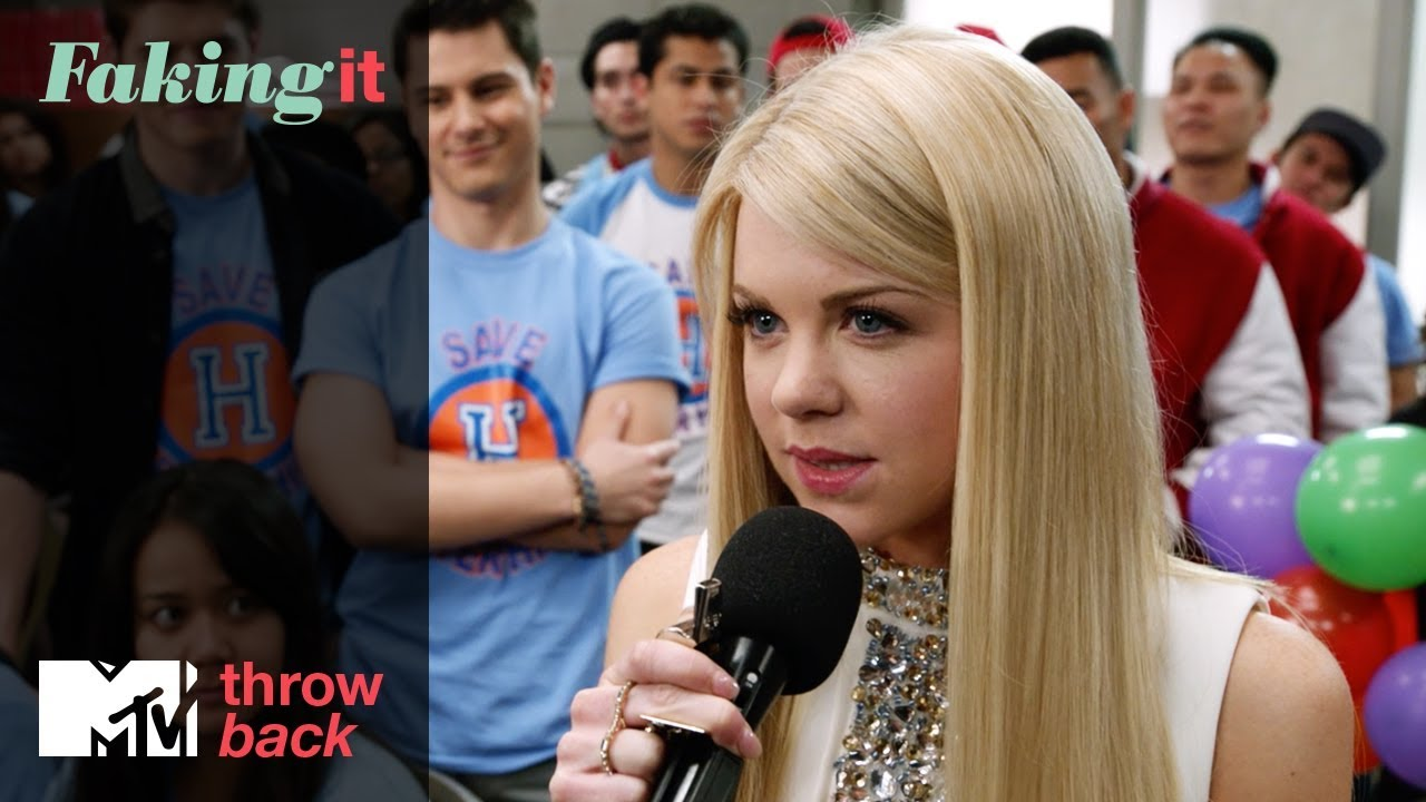 Download 'Lauren's Hester Speech' 🎤Official Throwback Clip | Faking It | MTV